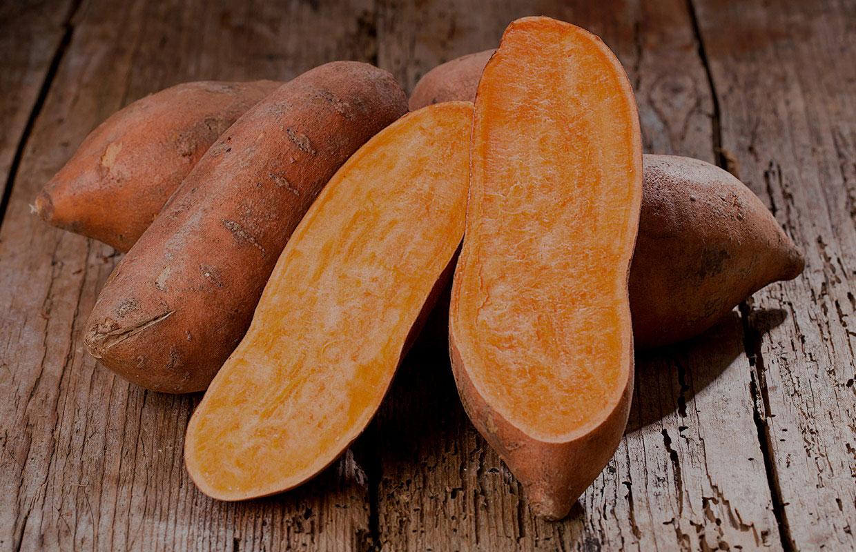 Camote de naranja